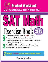 SAT Math Exercise Book (Buch (kartoniert)), Reza Nazari, Ava Ross
