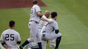 Yankees' Giancarlo Stanton, Aaron Hicks explain why they knelt ...