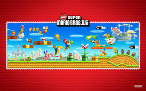 new super mario bros wii wallpapers