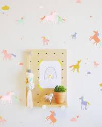 Wall Decal Tiny Unicorns Wall Sticker Room Decor The Lovely Wall Company