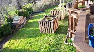 diy pallet garden raised flower bed ideas