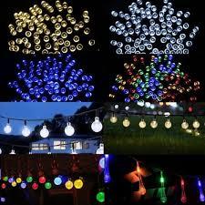 solar power fairy garden lights string