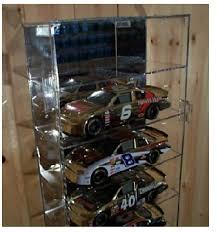 nascar cast car display cases for