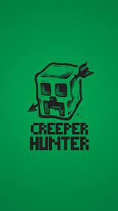 creeper hunter iphone 5 se wallpaper