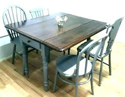 rectangular drop leaf dining table with