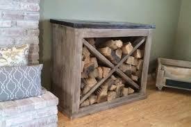 42 simple diy firewood rack plans