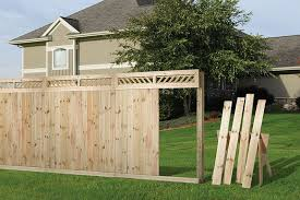 Wood Fence Outdoor Essentials