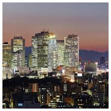 City Skyline Shinjuku District Tokyo Japan Wall Art Paper Art Contemporary Prints And Posters By Global Gallery