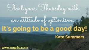 thursday quotes to inspire you