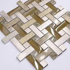 modern mosaic kitchen backsplash tile