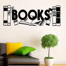 Zooyoo Books Wall Sticker Home Decor Reading Room Library Decoration Wall Decal Kids Children Room Art Murals Books Wall Sticker Decorative Wall Decalwall Sticker Aliexpress