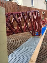 And Finally Engineer Completes 4 7m Lego Model Of Forth Bridge Scottish Construction Now