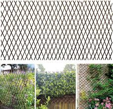 Amazon Com Expandable Plant Climbing Lattices Nature Wooden Trellis Trellis Flower Decoration Stand For Climbing Plants Vegetables Anti Corrosion Anti Insect Small Size Garden Outdoor