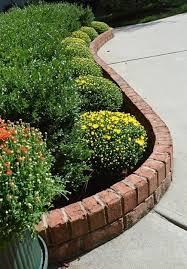 25 garden edges and borders brick