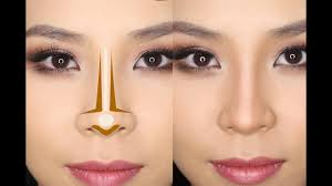 how to contour your nose for beginners