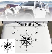 Universal Car Hood Black Decals 20 X 20 Compass Vinyl Decal Sticker For Jeep Archives Statelegals Staradvertiser Com