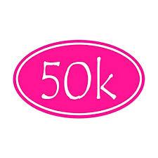 Cafepress Pink 50k Oval Sticker Oval Buy Online In Bermuda At Desertcart