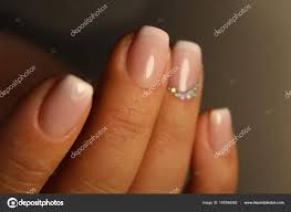 Manicure Design French Stock Photo C Smirmaxstock 187896062