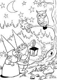 Coloring Page David The Gnome David The Gnome Kleurplaten David