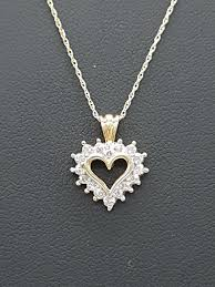 15 jan 2020 10k necklace with diamond