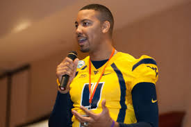 Former WVU football player educates youth on dangers of tobacco use |  Morgantown News | thedaonline.com