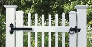 Gate Hardware For Vinyl Fencing Latches Hinges For Pvc