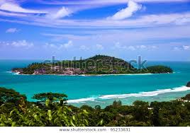 View Ile Therese West Coast Seychelles Stock Photo (Edit Now) 95233831