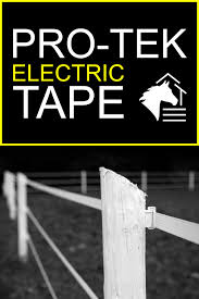 Electric Horse Fencing Ramm Pro Tek Tape Horse Fencing Electricity Horses