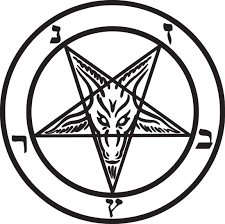 Baphomet Pagan Knights Templar Goat Die Cut Vinyl Sticker Decal Sticky Addiction