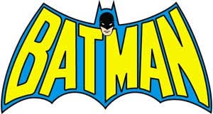Batman Sticker Naked City Clothing