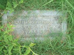 Walter Richardson (1881-1953) - Find A Grave Memorial