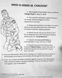 Derek Chauvin might be the most prolific serial killer in Minnesota history  (with new evidence surfacing about Billy Glaze). : LPOTL