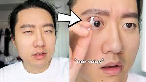 making my small asian eyes bigger