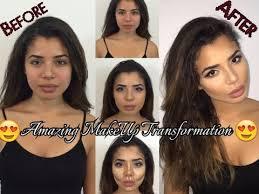 after make up transformation tutorial