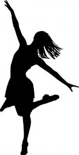 dancing clipart dancer silhouette