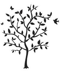Godinger Philip Whitney Tree Wall Decal Reviews Wall Art Macy S Silhouette Wall Art Tree Wall Decal Black Wall Stickers