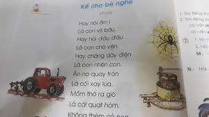 Tiếng Việt lớp 1 - Tập đọc: Kể cho bé nghe - YouTube