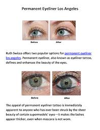 ruth swissa permanent makeup and skin