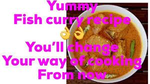 Fish curry Nepali style recipe