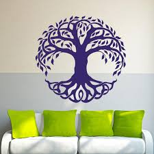 2017 Hot Sale Wall Decor Vinyl Sticker Decal Celtic Tree Life Tribal Nature Creative Wall Decal Decorative Murals Vinyl Art Diy Sports Wall Decals Sports Wall Stickers From Langru1002 8 15 Dhgate Com