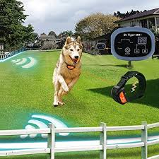 2 Dogs Electric Fence With Rechargeable Rainproof Collar Invisible Dog Cat Containment System With Wire W01 G2 Walmart Com Walmart Com