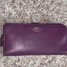 coach bags skinny wallet in refined