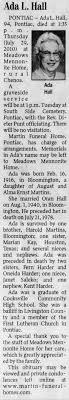 Ada Martin obituary - Newspapers.com