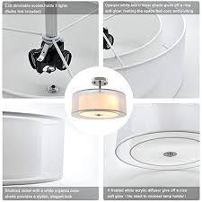 dllt 3 lights industrial semi flush