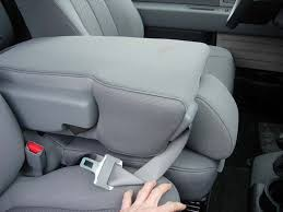 non opening console armrest seat covers