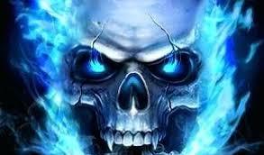 skull live wallpaper blur picsart png