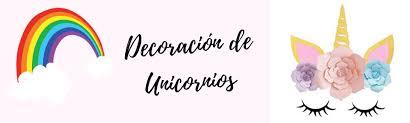 Decoracion De Unicornio Decoracion Fiesta