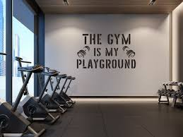Gym Wall Decal Sports Quotes Wall Decals Gym Wall Decor Etsy In 2020 Gym Wall Decal Gym Wall Decor Sports Wall Decals