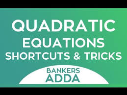 quadratic equations for bank po