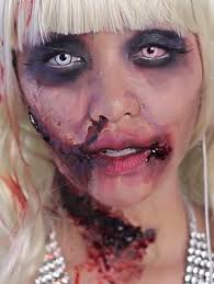 zombie barbie makeup look with images